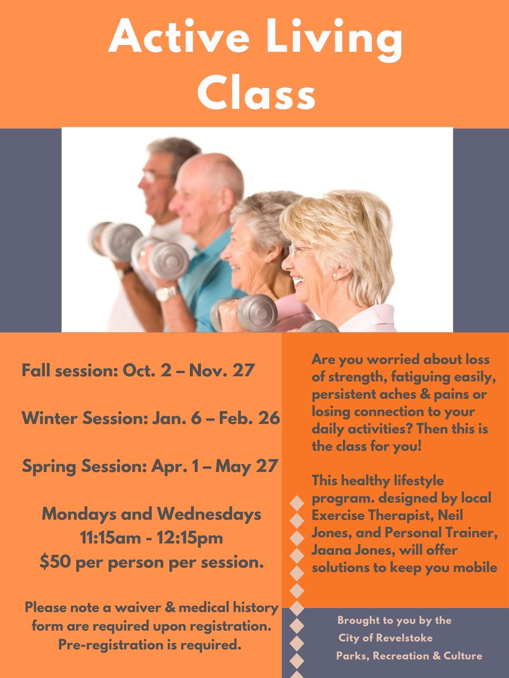 ACTIVE LIVING CLASS