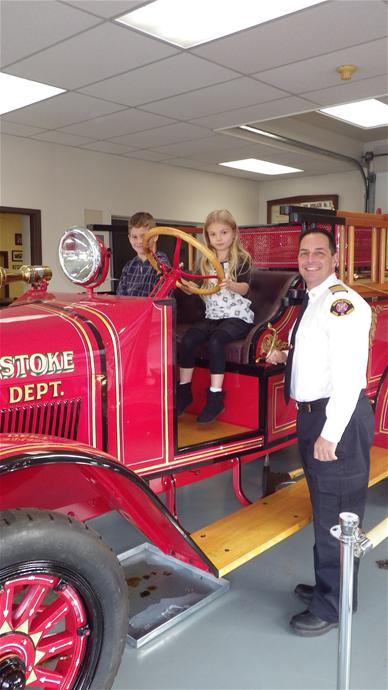 Fire Chief for a Day 2013